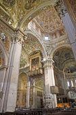 BERGAMO - JANUARY 26: Main nave of cathedral Santa Maria Maggiore on January 26, 2013 in Bergamo, Italy. — Fotografia Stock