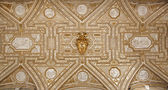 ROME - MARCH 21: Roof of vestibule from Saint Peter s basilica on March 21, 2012 in Rome. — Stock Photo