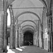 Stock Photo: Mil- atrium of SAmbrogio - Ambrosius church