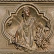 Milan - detail from main bronze gate - Judith with the Head of Holofernes — Stock Photo