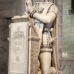 ������, ������: Paris paryer of king Louis XVI from Saint Denis gothic cathedral