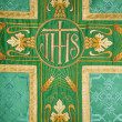 Stock Photo: Cross - detail of vestment
