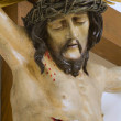 Stock Photo: Jesus on cross statue