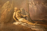 Milan - paint of Deposition from the cross - Saint Mark church — Stock Photo