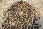 Milan - gothic rosette from Duomo cathedral — Stockfoto