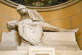 Vienna - pieta from st. Francis church — Stock Photo