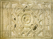 Venice - relief from st. Mark basilica — Stock Photo