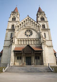 Vienna - st. Francis church — Stock Photo