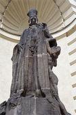 Rabbi löw statue from prague — Stock Photo