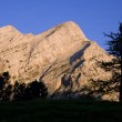 Julialps - Sloveni- sunrise — Stock Photo #39750433