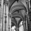 Paris - Saint Eustache church — Stock Photo