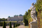 Palace belvedere in vienna — Stockfoto