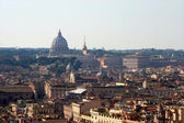Rome - outlook from Vittorio Emanuele monument — Stock Photo