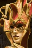 Mask from venice carnival - decoration — Stock Photo