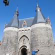 Mechelen - Brusselport gate — Stock Photo #40564533