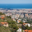 Palermo - outlook over the town from Monreale — Stock Photo #40568601