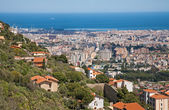 Palermo - outlook over the town from Monreale — Stock Photo
