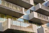 Leuven - modern housing - balcony — Zdjęcie stockowe