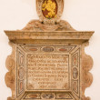 Stock Photo: BRATISLAVA, SLOVAKI- FEBRUARY 11, 2014: Baroque epitaph from year 1636 in St. Ann gothic side chapel in st. Martin cathedral.