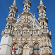 Leuven - Gothic town hall — Stock Photo