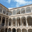 Palermo - Atrium of Norman palace or Palazzo Reale — Stock Photo