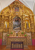 TOLEDO - MARCH 8: Baroque side altar of Saint Francis Xavier from church Iglesia de san Idefonso by Pedro de Luna (1756) on March 8, 2013 in Toledo, Spain. — Stock Photo
