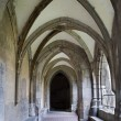 Slovakia - Hronsky Benadik - gothic corridor of atrium - old benedictine cloister — Stock Photo #40964665