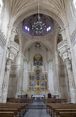 TOLEDO - MARCH 8: Gothic interior of Monasterio San Juan de los Reyes or Monastery of Saint John of the Kings on March 8, 2013 in Toledo, Spain. — Stock Photo