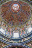 MADRID, SPAIN - MARCH 10, 2012: Baroque cupola of church Iglesia de San Andres - San Anderew church. — Stock Photo