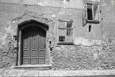 Bratislava - facade of old house — Stock Photo
