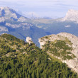 Landscape of dolomite - outlook from cristalo massif — Stock Photo #40975205