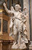 ROME, MARCH - 23: Angel statue from San Ignacio church on March 23, 2012 in Rome. — Foto de Stock