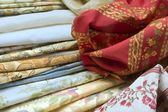 Textile in venice — Stock Photo