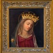 VIENNA, AUSTRIA - FEBRUARY 17, 2014: Glorious paint of Virgin Mary by unknown Italian painter from 15 - 16. cent. in Carmelites church in Dobling. — Stock Photo #42367709