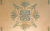 święty anton, słowacja - 26 lutego 2014: detal fresk sufit z bułgarskim saloon w pałacu saint anton od 19. procent. — Zdjęcie stockowe