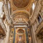 Постер, плакат: BOLOGNA ITALY MARCH 15 2014: Main altar of baroque church Santa Maria della Vita designed in year 1787 by Giuseppe Tubertini