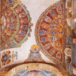 Постер, плакат: BOLOGNA ITALY MARCH 15 2014: Ceiling and walls of entry to external atrium of Archiginnasio