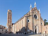 ヴェネツィア, イタリア - 2014 年 3 月 12 日: 教会サンタ・マリア ・ グロリオーザ ・ デイ ・ フラーリ教会. — ストック写真