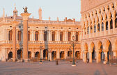 Venice - Doge palace and Piazza San Marco in morning light — Stok fotoğraf