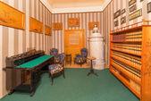 SAINT ANTON, SLOVAKIA - FEBRUARY 27, 2014: Little saloon from 19. cent. in palace Saint Anton. — Stock Photo