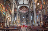 VENICE, ITALY - MARCH 12, 2014: Interior of Chiesa di San Zaccaria church. — Stock Photo