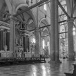 Постер, плакат: VENICE ITALY MARCH 12 2014: Interior of Basilica di san Giovanni e Paolo church