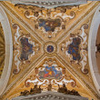 Постер, плакат: VENICE ITALY MARCH 12 2014: Baroque cupola of side chapel in Basilica di san Giovanni e Paolo church