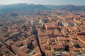 Bologna - Outlook from Torre Asinelli to south in morning — Stock Photo
