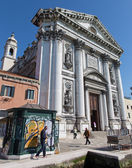 VENICE, ITALY - MARCH 12, 2014: Church Chiesa dei Gesuati — Stock Photo