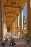 BOLOGNA, ITALY - MARCH 17, 2014: Old cemetery (certosa) by St. Girolamo church. — Stock Photo