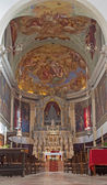VENICE, ITALY - MARCH 12, 2014: Presbytery of church Chiesa di San Pietro de Castello. — Stock Photo