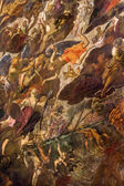 VENICE, ITALY - MARCH 11, 2014: Detail of The Last judgment (1563) by Jacopo Robusti (Tintoretto) in presbytery of church Santa Maria dell Orto. — Stock Photo