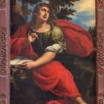 ������, ������: VENICE ITALY MARCH 13 2014: Paint of st John the evangelist in church Santa Maria della Salute