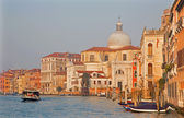 VENICE, ITALY - MARCH 14, 2014: Canal Grande in morning light — Stock Photo